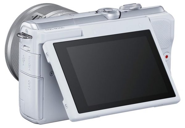 EOS M200 with LD opened up