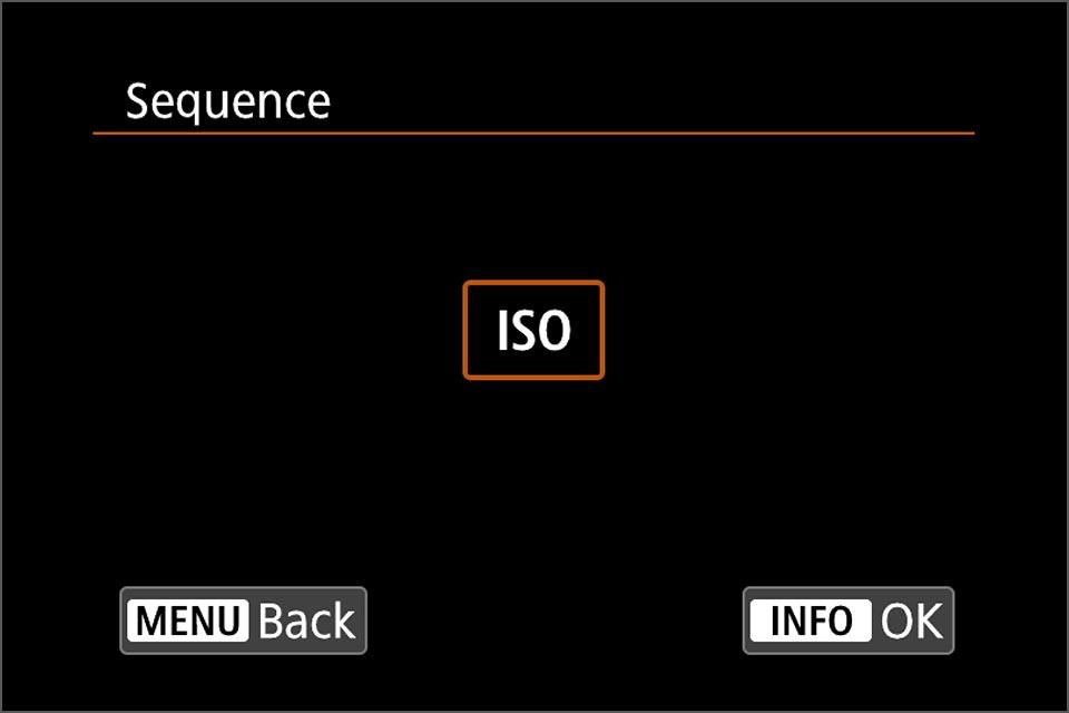 EOSR M-Fn button customisation