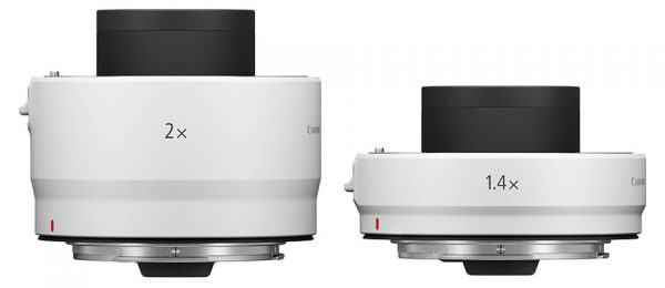 Canon RF Extender 2x and 1.4x