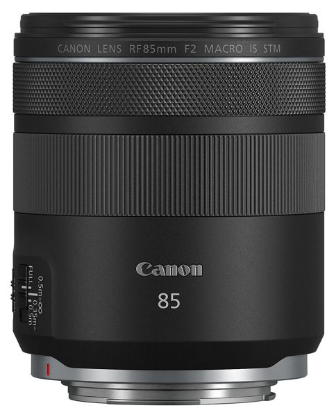 Canon RF 85mm F2 Macro IS STM lens