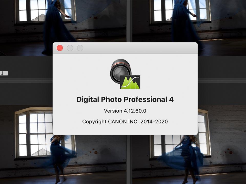 DPP 4.12.60 to process EOS R5 RAW files