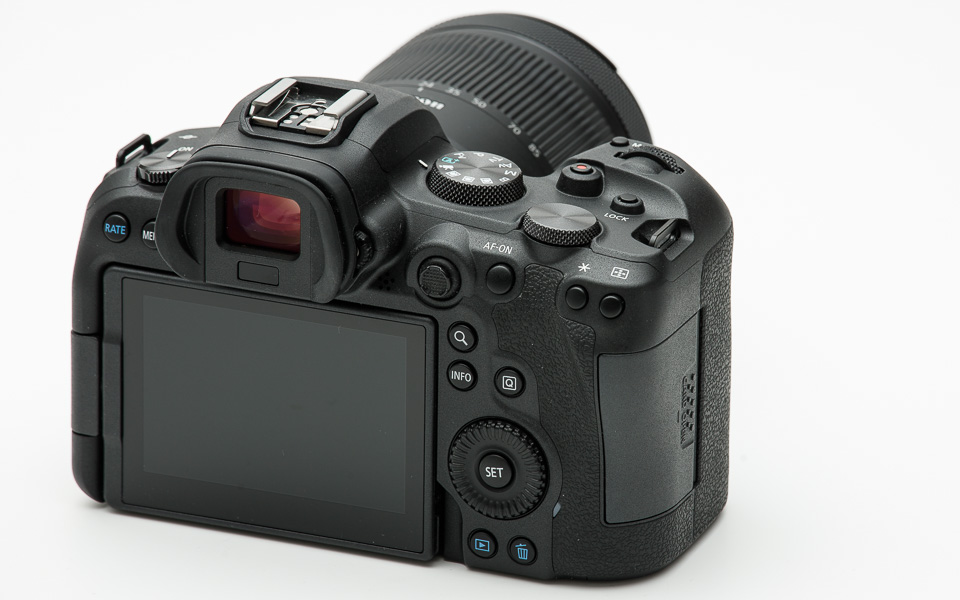 EOS R6 buttons and controls