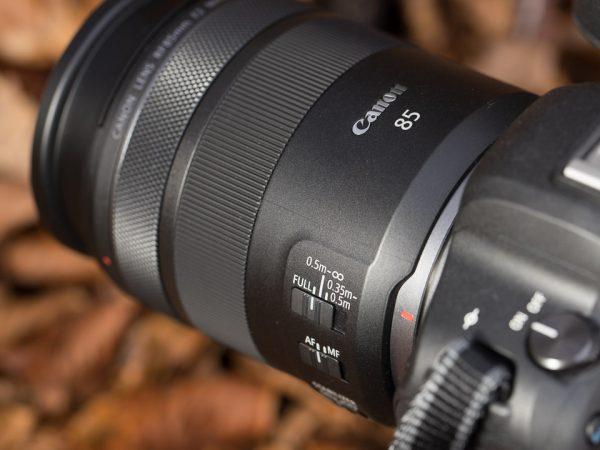Rf 85mm F2 Macro focus range switch