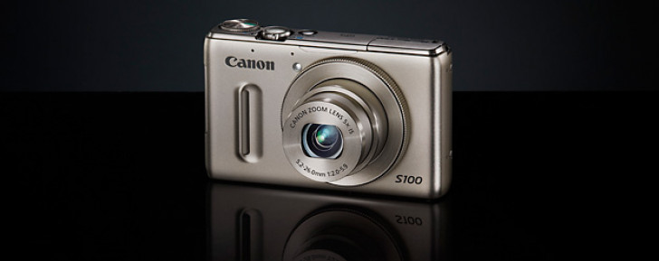 Canon launches PowerShot S100