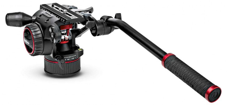 Manfrotto Nitrotech fluid video head