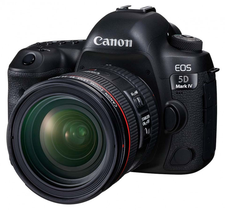 EOS 5D Mark IV increased dynamic range & c-log at a cost