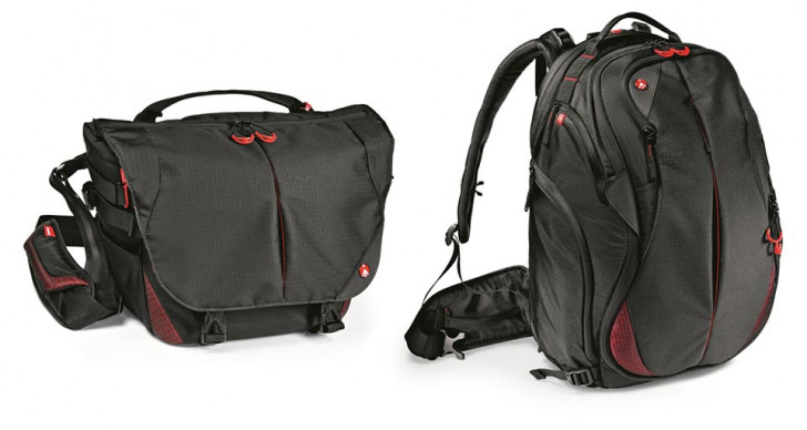 Manfrotto introduces new Pro Light Bumblebee bags & PIXIPano360 panoramic head