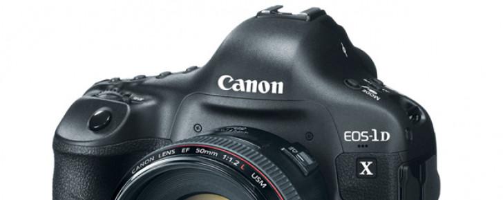 Canon launches EOS-1D X professional DSLR camera