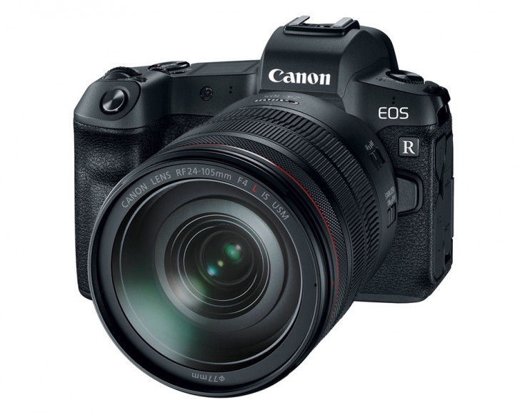 Canon EOS R full-frame mirrorless camera system