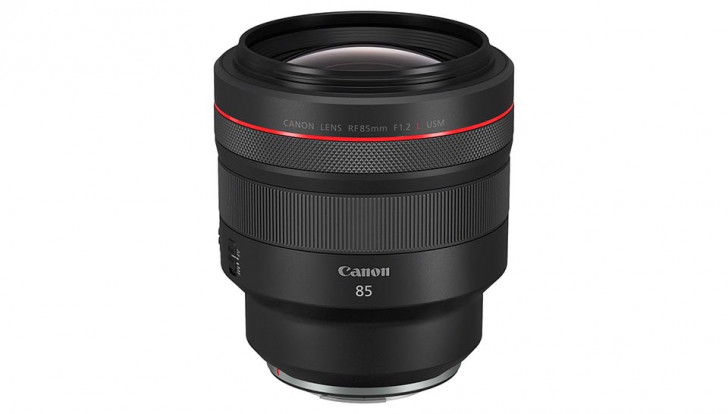 Canon introduces RF 85mm f/1.2L USM lens