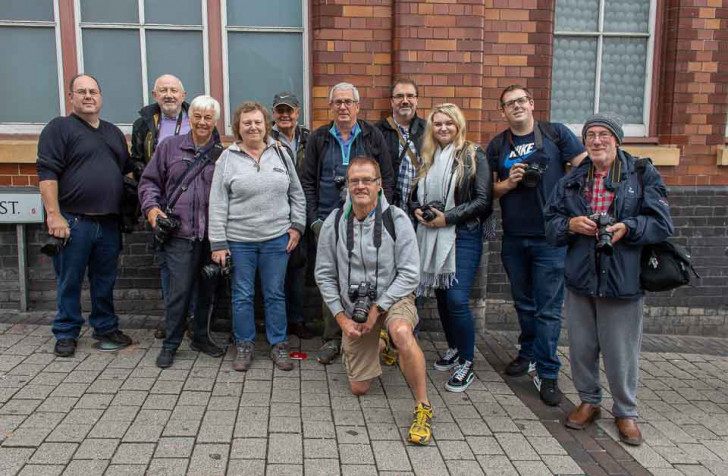 Worldwide Photo Walk group of photographers in Birmingham