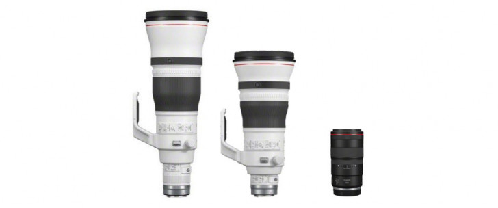 Canon announces three RF lenses; RF 400mm F2.8, RF 600mm F4 & RF 100mm F2.8 Macro