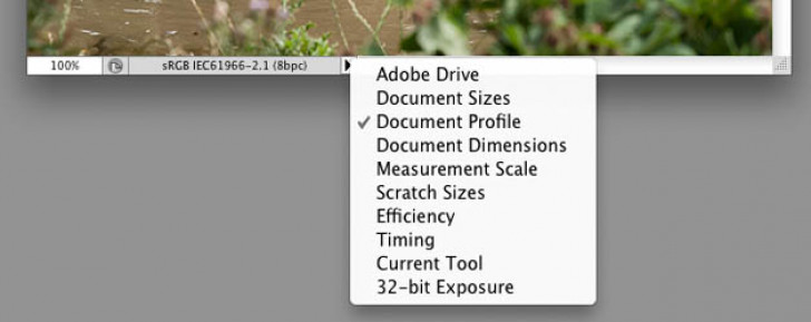 Check your document colour profile in Photoshop