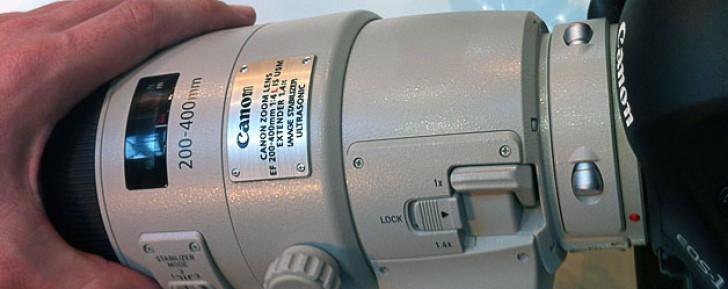 Canon EF 200-400mm f/4L IS USM 1.4x Extender lens