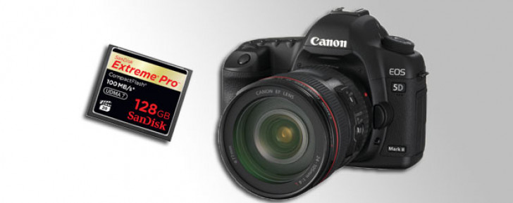 EOS 5D Mark II firmware update for UDMA 7 cards