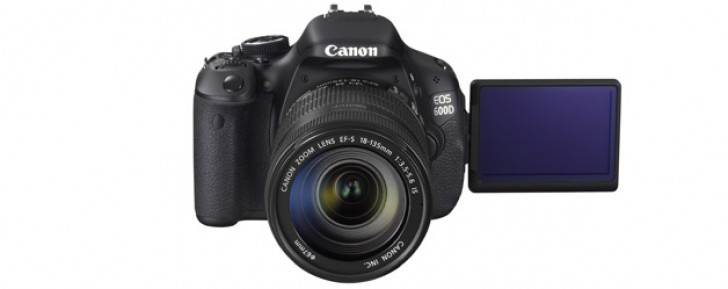 Canon announces EOS 600D, EOS 1100D cameras and a lot more