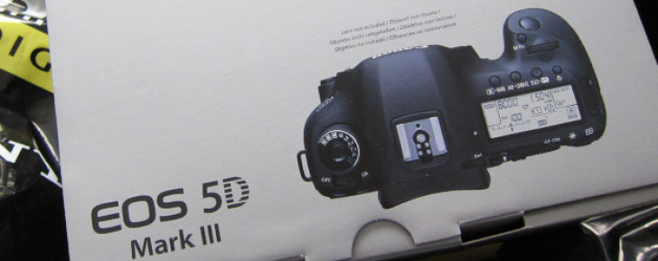 EOS 5D Mark III has arrived