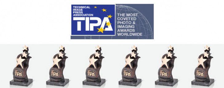 Canon picks up six TIPA awards