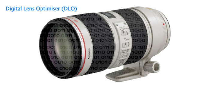 Improving image quality with Digital Lens Optimiser (DLO)