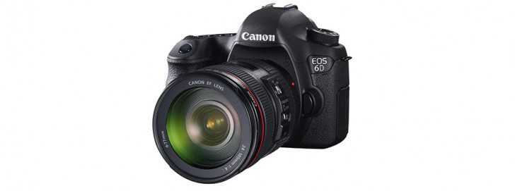 Canon launches EOS 6D 20.2MP full frame DSLR with WiFi and GPS