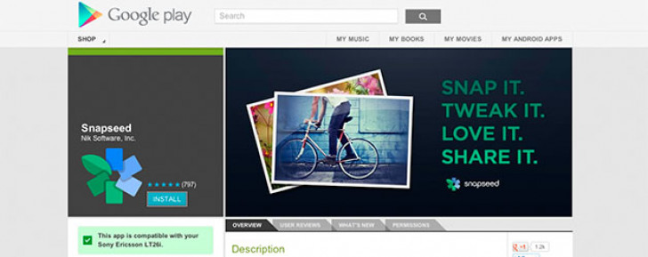 Google introduces free Snapseed photo editor for Android