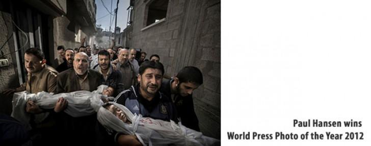 Paul Hansen wins World Press Photo of the Year 2012