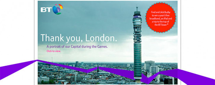 BT Tower breaks world record for panoramic photo