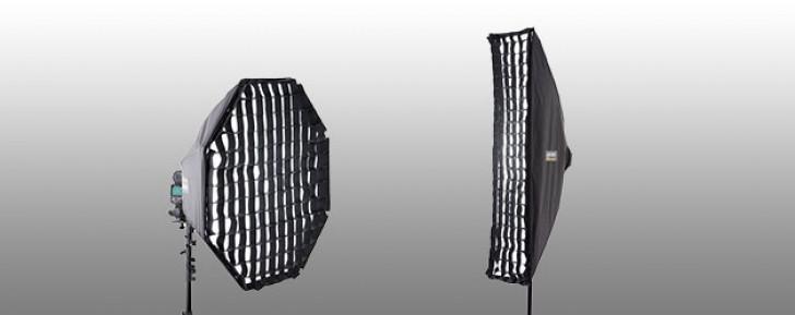 Lastolite adds grids for Hotrod Octa & Strip Box