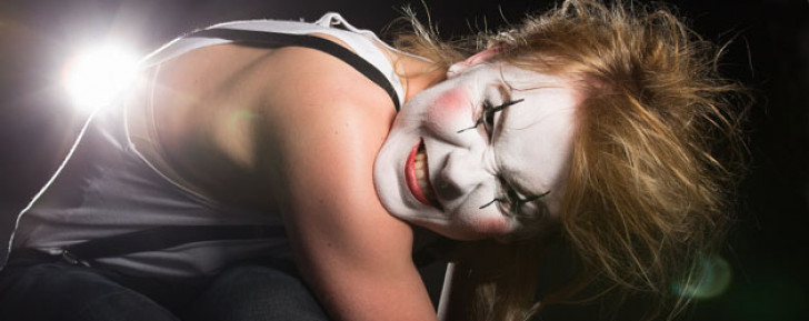 Mimes and harlequins…