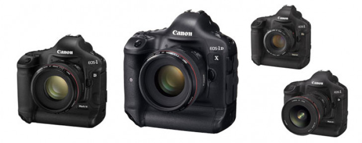 EOS-1D X, EOS-1D Mark IV, EOS-1Ds Mark III firmware updates