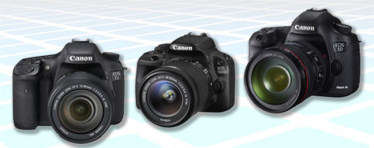 Firmware update information & download links for Canon EOS cameras