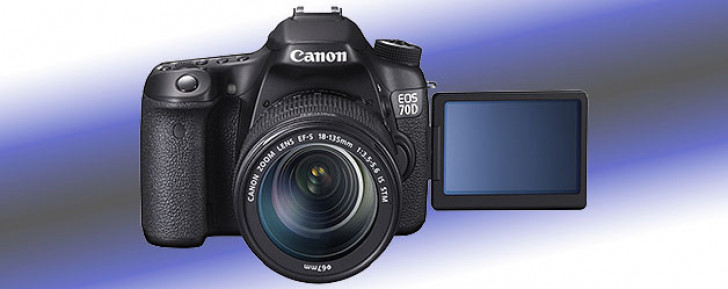 EOS 70D unleashed with new technology dual pixel autofocus