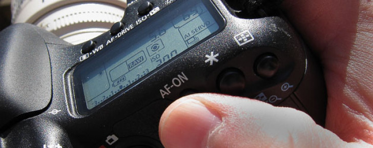 Using the back button for auto focus