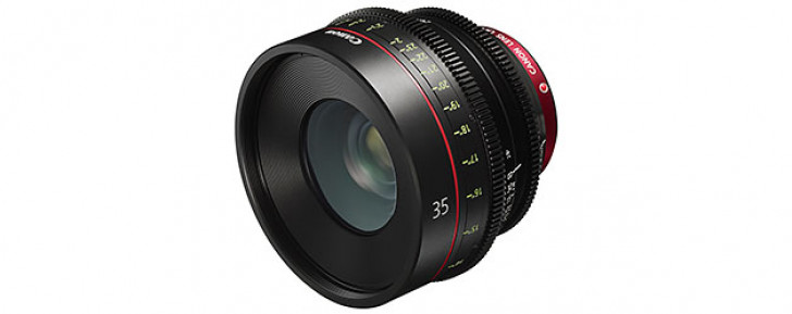 Cinema EOS CN-E 35mm T1.5 L F prime lens
