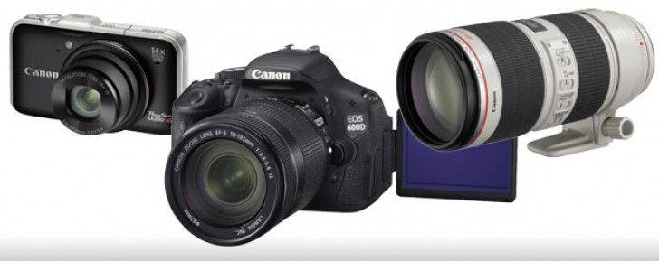 Canon picks up four prizes at the TIPA 2011 awards