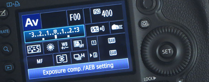 Which Canon DSLR is best for auto exposure bracketing?
