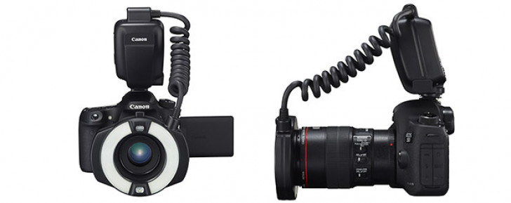 Macro Ring Lite MR-14EX II macro flash for EOS cameras