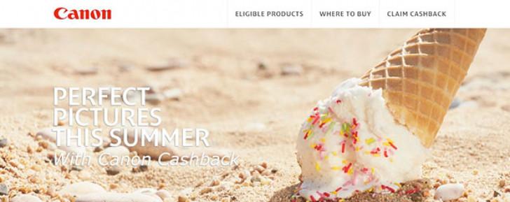 Canon Summer Cashback 2014