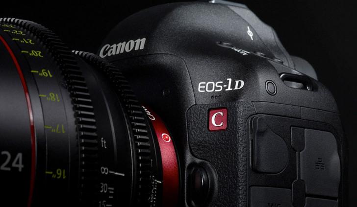 Canon updates EOS-1D C firmware