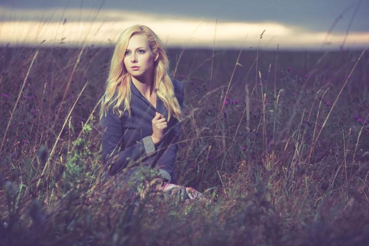 Lauren-Christina in the Chiltern Hills