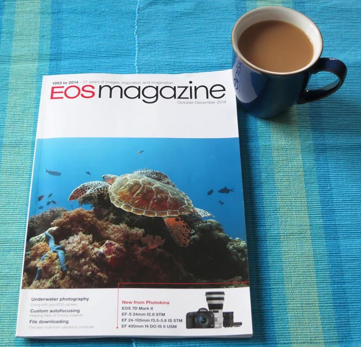 Customising autofocus article for EOS Magazine Oct-Dec 2014