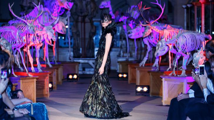 Fashion show time-lapse video