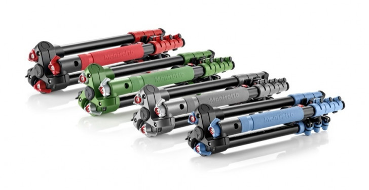Get Colourful with Manfrotto | camera supports with personality