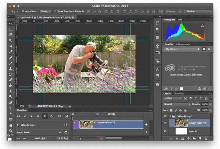 How to edit video using Photoshop
