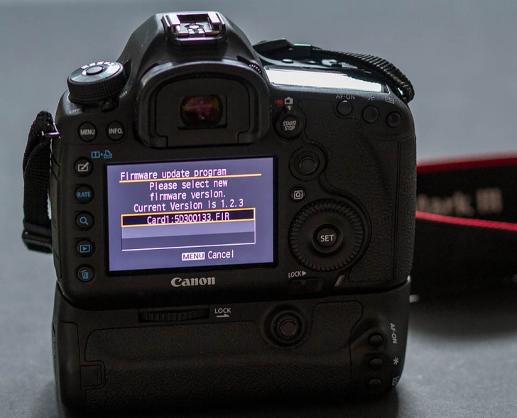 New firmware update for EOS 5D Mark III & EOS-1D X