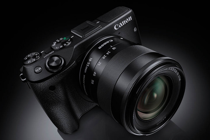 Canon announces the EOS M3 mirror-less camera