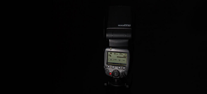 Speedlite product photo – lit with Speedlites