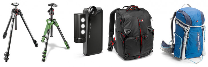 Get outdoors and start enjoying the summer with Manfrotto