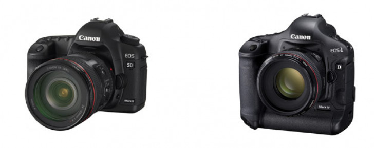 EOS-1D Mark IV and EOS 5D Mark II firmware updates