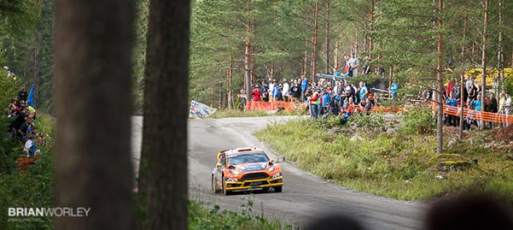 Rally Finland 2015 shakedown Ruuhimäki